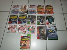 Riesige Spielesammlung, Ps3, Xbox 360, PC, Nintendo DS, 3DS, 16 Stück, top