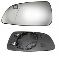 Left Side Wing Door Mirror Heated Glass For Opel Vauxhall Astra H 2004 - 2008