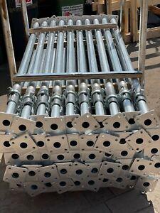 Bausprieße Baustütze Feuerverzinkt Fensterstütze Deckenstütze 2m - 3,5 m 6Stück