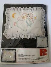Dmc Pik Stitchery Tooth Fairy Pillow Kit Vintage Kit #75000. (item#705) New