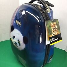 National Geographic Explorer Panda Hard Rolling Kid Luggage NEW W Tags 16