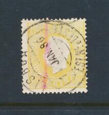 Portugal 1884 , 150Rs Perforado 13 ½, VF Usado Sc# 48a ( Ver Abajo )