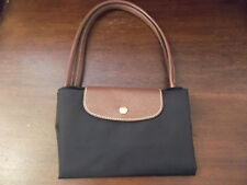 Longchamp Le Pliage Large Packable Nylon tote shopper bag in Black