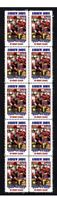 ANDREW JOHNS NEWCASTLE KNIGHT RUGBY CENTENARY VIGNETTE STAMPS 1