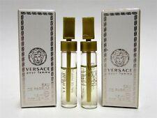 Versace Pour Femme Eau de Parfum EDP Splash Sample Vial .05 oz 1.5 ml x 2 PCS