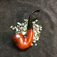 "RESTORED hard to find Irish Seconds ""Baskerville"" bent Rhodesian vintage pipe"