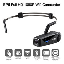 Ordro Ep5 Head Action Mini DV Camcorder Full HD 1080p Video Camera WiFi Bluetoot
