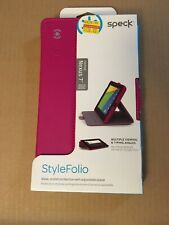 NEW speck Stylefolio tablet Case Cover Folio for Nexus 7 Verizon Tablet - Pink