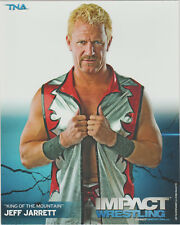 Jeff Jarrett Officially Licensed TNA Wrestling Promo Photo