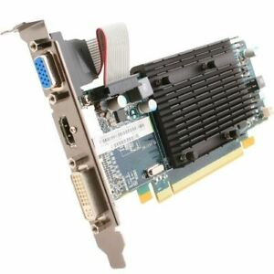 Graphic Card PCI Express 2.0 x16 512MB HDMI DVI VGA SAPPHIRE Ati Radeon HD4350