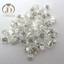 Loose Moissanite Lot Off White 2.80mm To 4.00mm Round Cut For Pendanl Or Ring