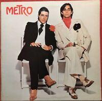 Metro Metro LP Vinyl Schallplatte Rock,Sammlung Transatlantic Records-TRA 3-1976