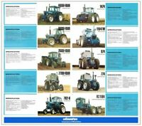 FORD COUNTY TRACTOR COLLECTION THE RANGE STABLE SALES BROCHURE/POSTER ADVERT A3