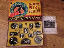 CLASSIC PUZZLE BAFFLING WIRE 12 PUZZLES THE LAGOON GROUP 2008 Test Skills