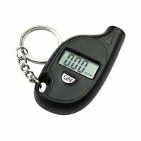 LCD Display Digital Car Tire Wheel Air Pressure Gauge Tester Keychain Pendants