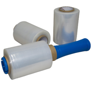 Bundling Film 100mmx250mx20um Clear Stretch Shrink Film Small Core Pallet Wrap
