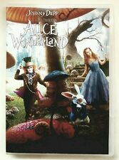 Alice in Wonderland (DVD). Johnny Depp. Disney. No Bluray; No DMA Code.