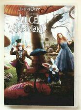 Alice in Wonderland (DVD). Johnny Depp. Disney. No Bluray; No DMA Code.