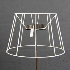 "12"" French Drum Tapered Straight Empire Traditional Lampshade Frame"
