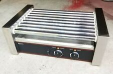Adcraft Commercial 24 Hot Dog Roller Rg 09 Grill 9 Rollers Non Skid 120v 720w
