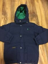 Ralph Lauren Boys Puffer Winter Jacket Aged 7