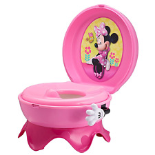 USA Portable Potty Training Toilet Seat Minnie Mouse 3in1 System For Baby Girls