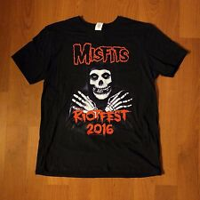 NEW SOLD OUT OFFICIAL MISFITS TOUR DENVER SHIRT TEE 2016 LARGE
