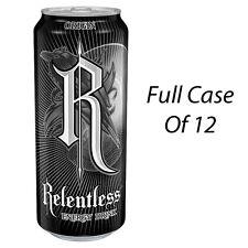 RELENTLESS ORIGIN 500ml 12 x 500ml ENERGY DRINKS WHOLESALE RETAIL STOCK 140706