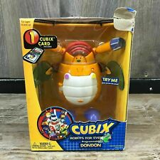 NEW Cubix Robots For Everyone Programmable DONDON 2001 Trendmasters Card Inc.