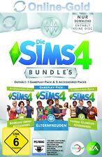 Die Sims 4 Bundle 5 Elternfreuden Vintage-Glamour Bowling-Abend EA Origin PC DLC