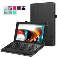 for RCA 11 Delta Pro 11.6 inch Tablet Slim Folio Case Stand Cover Pencil Holder