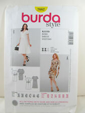Burda Patterns 7082 - Dress - Sz 10 12 14 16 18 20 NEW!