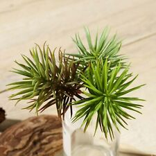 """3 Green 7"""" Assorted Faux Succulent Sprays Stems Wedding Party Home Centerpieces"""