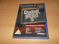Sony PS2 Guitar Hero 5 (Sony PlayStation 2 2009) comprobado