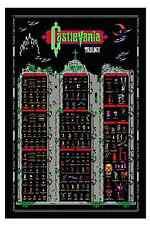 Castlevania NES Nintendo Trilogy 1 2 3 Retro Style Poster Monsters & Vampires