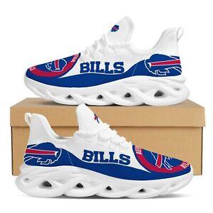 Buffalo Bills Sneaker Men Trainers Outdoor Street Walking Non Slip Lace Up Shoes