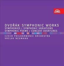 Dvorak: Symphonic Works 8-Disc CD Box Set Apr-2012 Supraphon Classical Overture