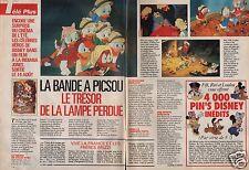 Coupure de presse Clipping 1991 La Bande à Picsou (2 pages)