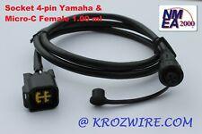 Lowrance Yamaha Engine Interface Cable Socket 4-pin NMEA 2000 direct to Display