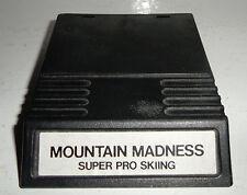Rare Intellivision MOUNTAIN MADNESS SUPER PRO SKIING HTF INTV Game EX Condition