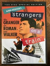 STRANGERS ON A TRAIN ~ 1951 Alfred Hitchcock Thriller ~ 2-Disc Special Ed UK DVD