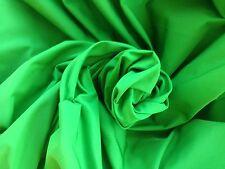 """10 metros Verde Tela Calidad 60"""" de ancho de desgaste de la Danza Teatro Disfraces Coches Barcos"""