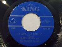 James Brown I Got The Feelin' / If I Ruled The World 45 1968 King Vinyl Record