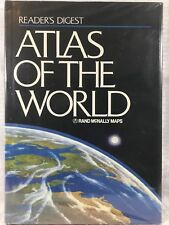 Atlas Of The World Readers Digest Rand McNally 1987 Maps Geography