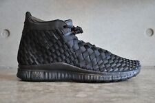 Nike Free Inneva Woven Mid SP Triple Black - Black/Black 7 UK 41 EUR 8 US