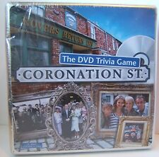 Coronation Street DVD Trivia Board Game New Sealed in DENTED Metal Tin