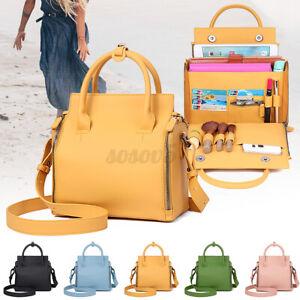 Women Handbag PU Leather Ladies Cosmetic Card Shoulder Crossbody Bag Travel