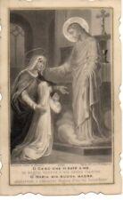 165 Gesù Maria antico santino canivet holycard