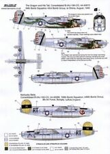 NEW 1:72 Xtradecal X72082 Consolidated B-24J Liberator `The Dragon and His Tail'