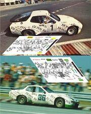 Calcas Porsche 924 GTR GTP Le Mans 1981 1 36  1:32 1:24 1:43 1:18 slot decals